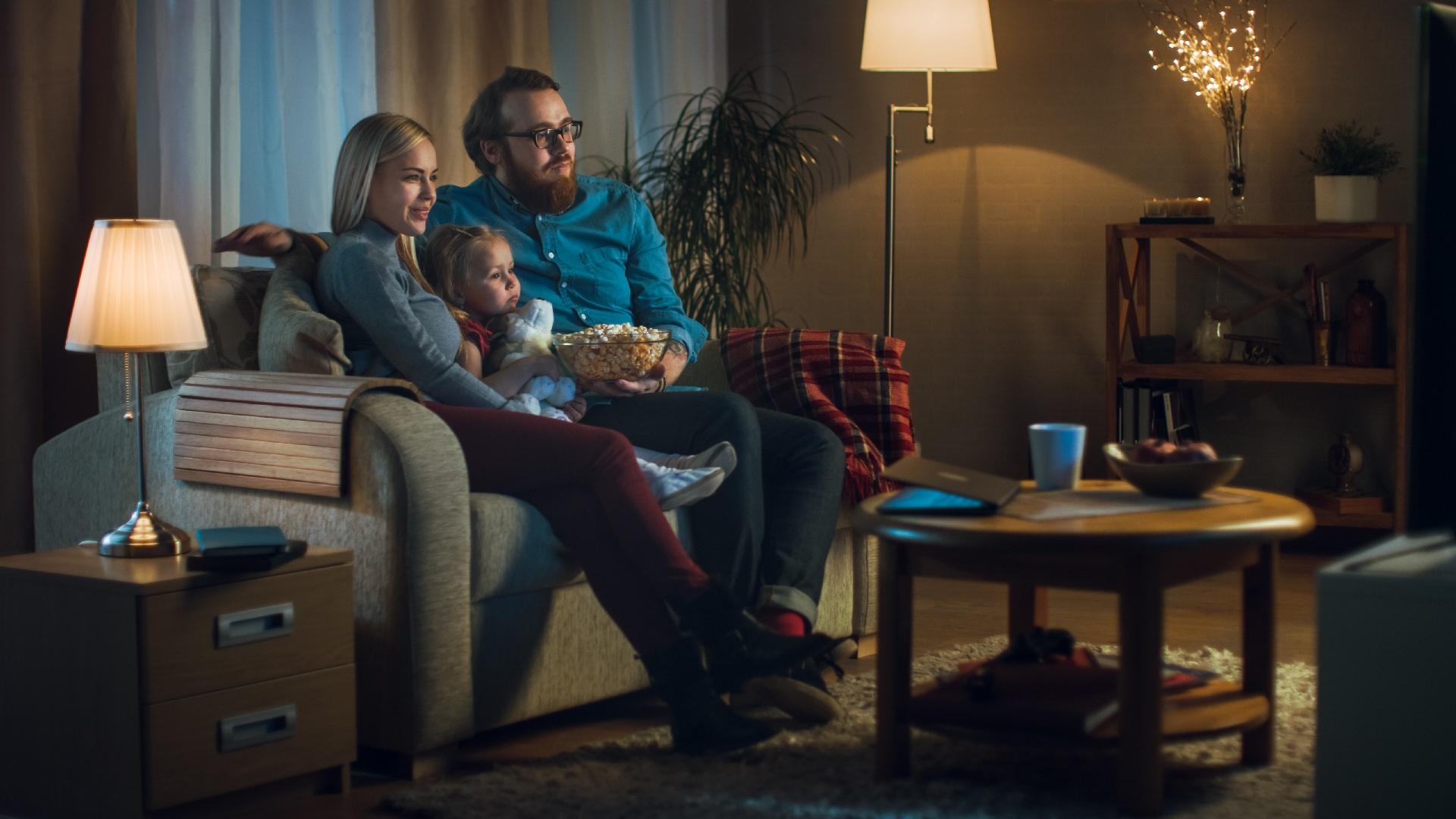 TIEDOTE: TV:n katselussa iso kasvu